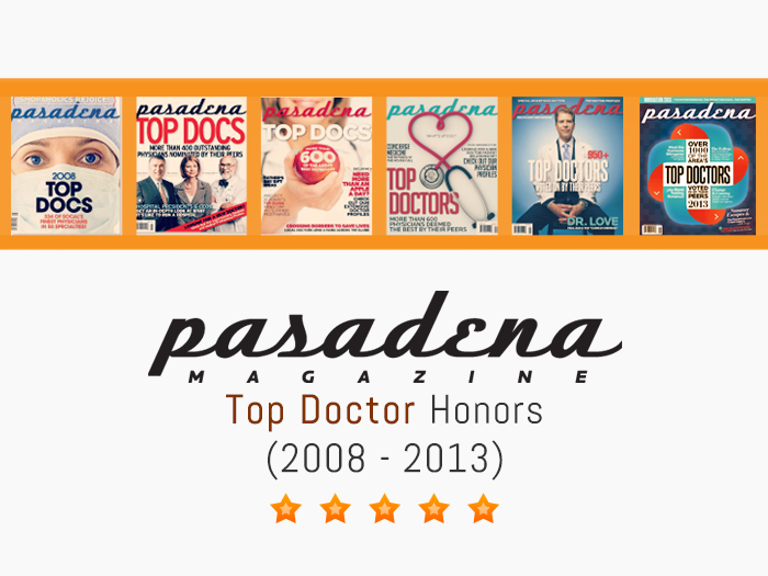 Pasadena Magazine\'s Top Doctor