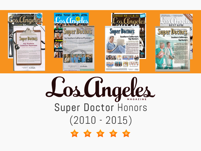 Los Angeles Magazine Super Doctor Ophthalmologist