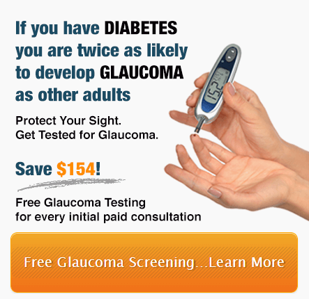 Free Glaucoma Testing Relative Has Glaucoma