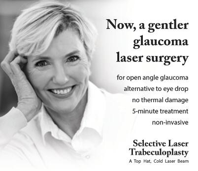 SLT gentler glaucoma surgery