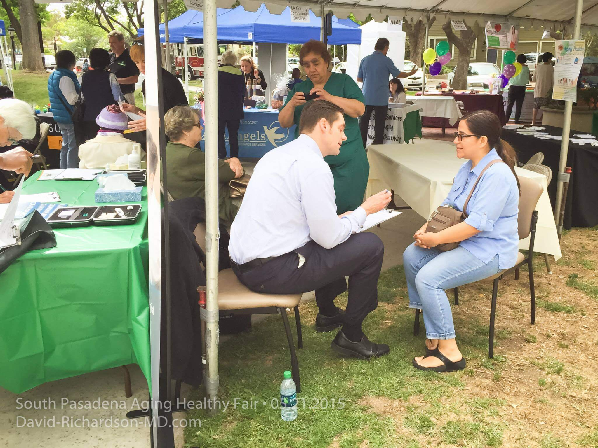 San Marino Eye at South Pasadena Aging Healty Fair 2