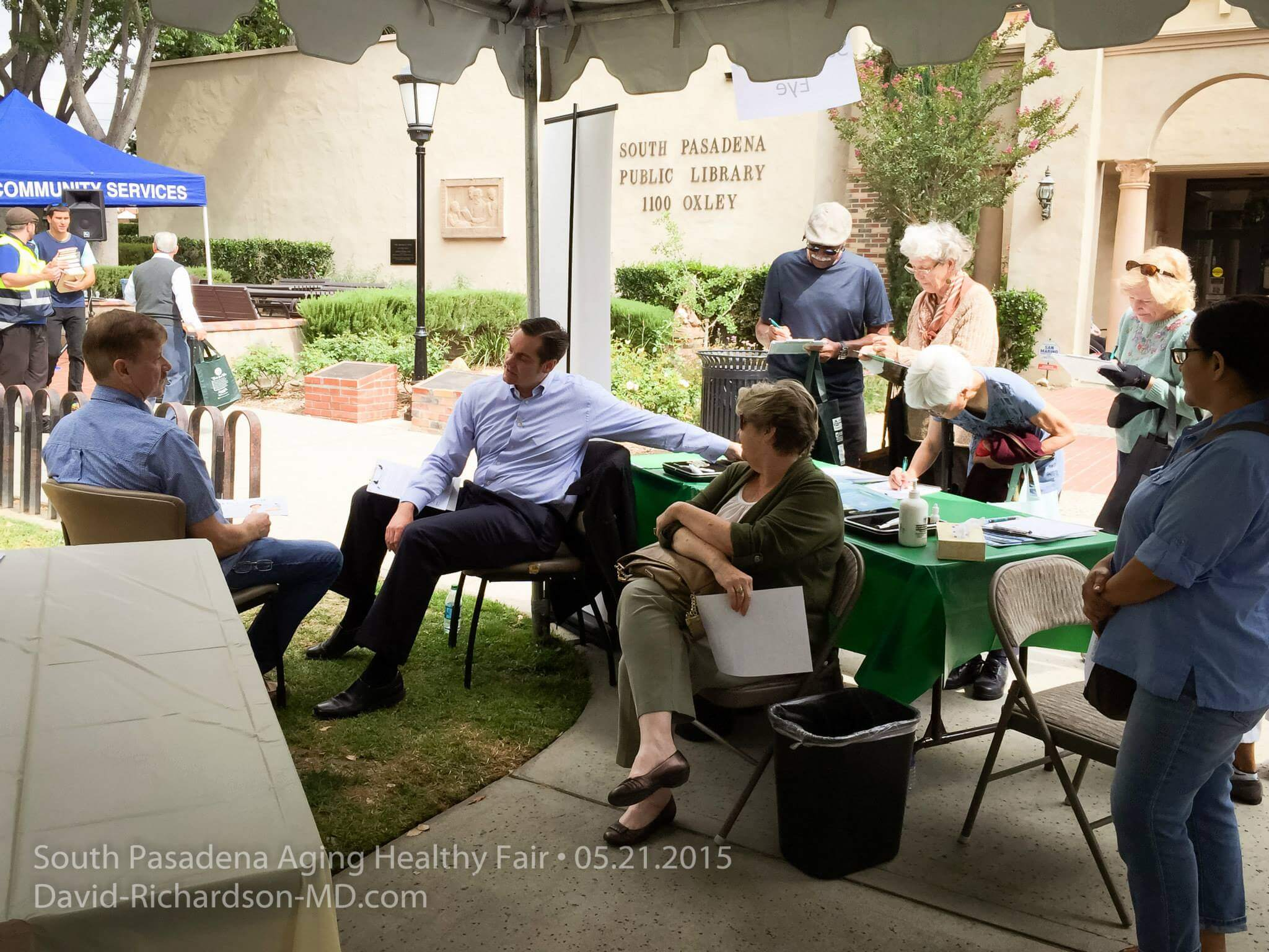 San Marino Eye at South Pasadena Aging Healty Fair 3