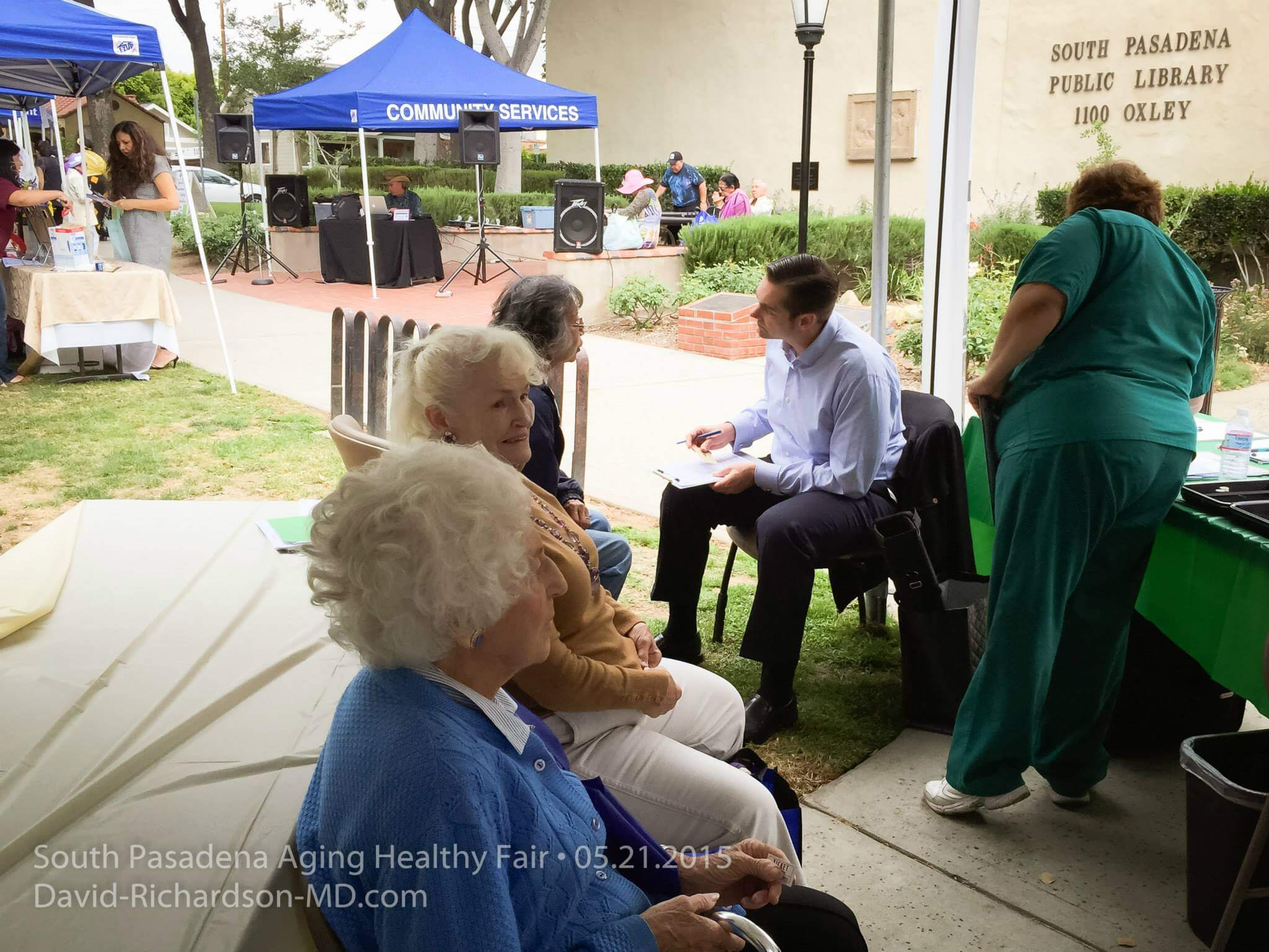 San Marino Eye at South Pasadena Aging Healty Fair 4
