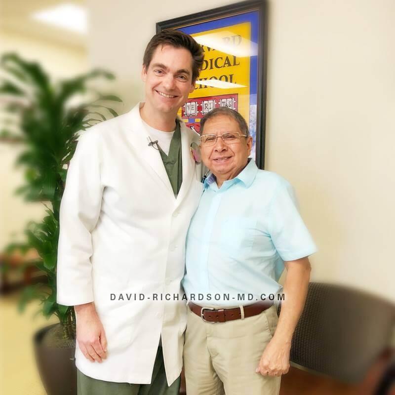 Dr Barahona Dr Richardson successful canaloplasty surgery