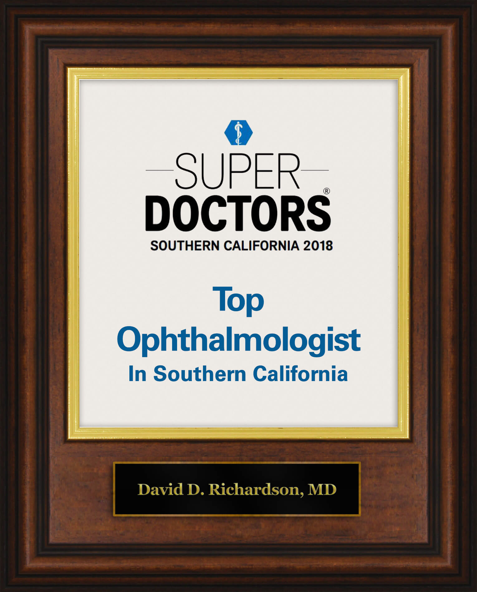 Top Ophthalmologist in Southern California David Richardson MD