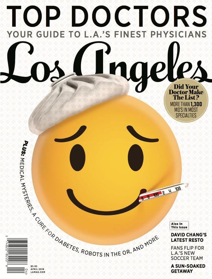 2018 Top Doctor by Los Angeles Magazine