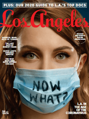 2020 Top Doctor by Los Angeles Magazine